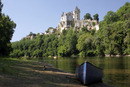 8356 Monfort and Canoe on the Dordogne River France
